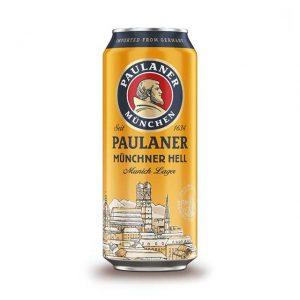 Paulaner Munich Lager 4.9% 500ml Can