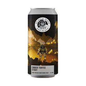 New Bristol brewery Cinder Toffee Stout 4% 440ml