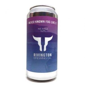 Rivington Brewing Never Known Fog Like It 5.2% 500ml