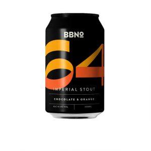 BBNo 64 Imperial Stout Chocolate & Orange 10% 330ml