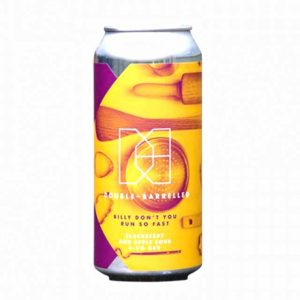 Double-Barrelled Billy Don't You Run So Fast Blackberry & Apple Sour 5.3% 440ml
