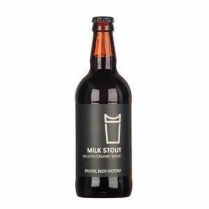Bristol Beer Factory Milk Stout 4.5% 500ml