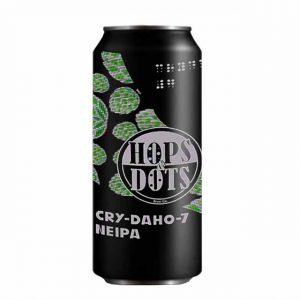 Hops & Dots Crydaho-7 NEIPA 4.5% 440ml