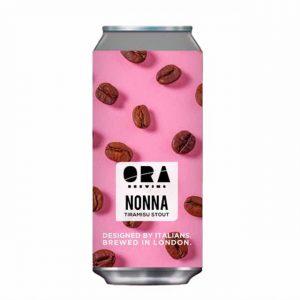 ORA Brewing Nonna Tramisu stout 6% 440ml
