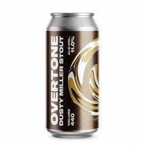Overtone Dust Miller Imperial Stout 11% 440ml