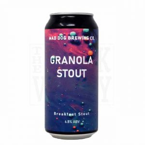 Mad Dog Brewing Granola Stout 6.8% 440ml