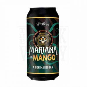 Weired Beard Mariana on Mango DDH IPA 7.1% 440ml