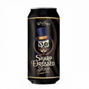 Wierd Beard Sharp Dressed Stout 6% 440ml