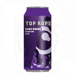 Top Rope Dark Order Black IPA 5.5% 440ml